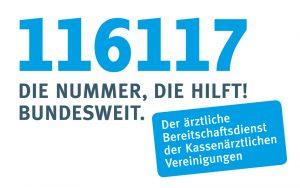 Telefonnummer Ärztlicher Bereitschaftsdienst 116117