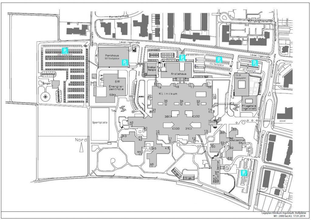 Karte Klinikum