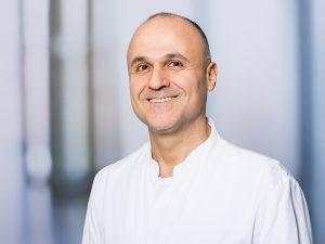 Firas Ghanem, Sektionsleiter Thoraxchirurgie innerhalb der Chirurgischen Klinik I im Klinikum Ingolstadt