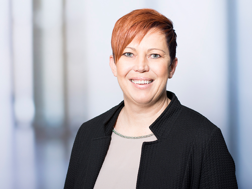 Waltraud Herrmann, Chefarztsekretärin des Zentrums für psychische Gesundheit im Klinikum Ingolstadt
