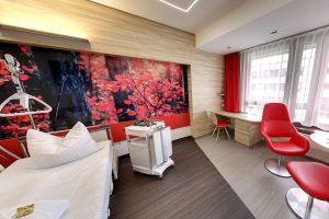 Eine Suite auf der Komfortstation des Klinikums Ingolstadt