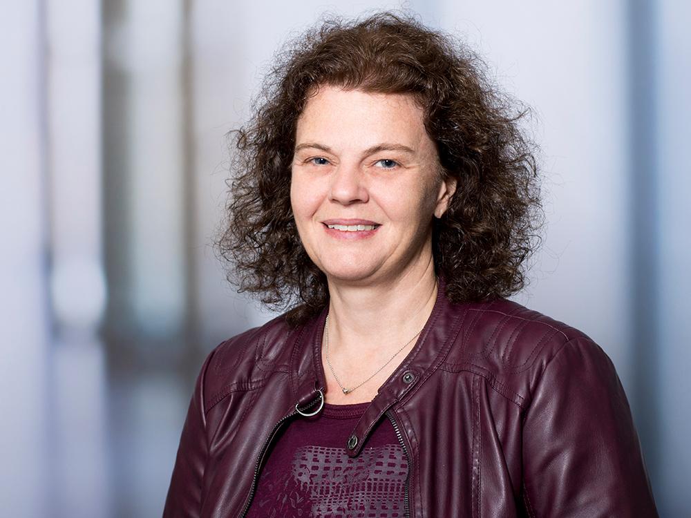 Margot Mittermeier, Chefarztsekretärin des Zentrums für psychische Gesundheit im Klinikum Ingolstadt
