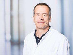 Prof. Dr. Thomas Pfefferkorn, Direktor der Klinik für Neurologie im Klinikum Ingolstadt