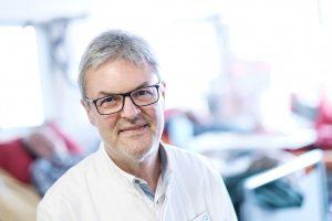 Dr. Friedrich Lazarus, Direktor der Medizinischen Klinik III am Klinikum Ingolstadt