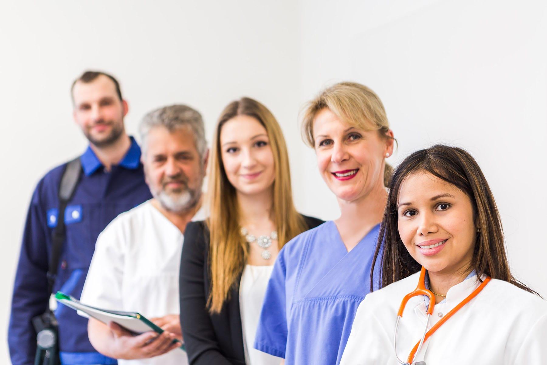 Karriere im Klinikum