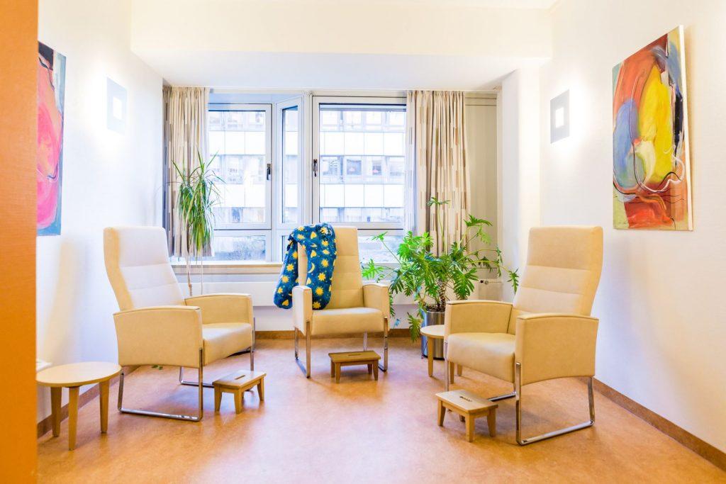 Stillzimmer des Mutter-Kind-Zentrums im Klinikum Ingolstadt