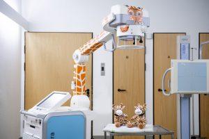 20 02 Radiologie Röntgen Giraffe