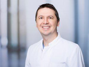 Dr. Cristian Arva, Oberarzt der Medizinischen Klinik II im Klinikum Ingolstadt