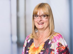 Doris Aubele, Chefarztsekretärin Institut für Anästhesie und Intensivmedizin am Klinikum Ingolstadt