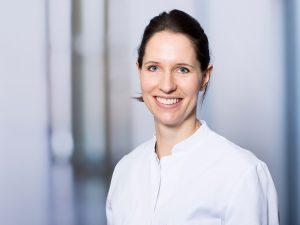 Dr. Lisa Bauer, Oberärztin im Zentrum für Radiologie und Neuroradiologie im Klinikum Ingolstadt