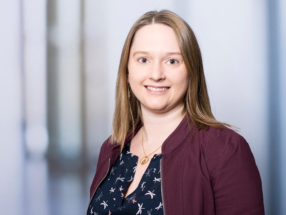 Marina Glasel, Chefarztsekretärin des Zentrums für Radiologie und Neuroradiologie im Klinikum Ingolstadt