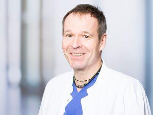 Dr. Christian Gollwitzer, Oberarzt der Medizinischen Klinik II im Klinikum Ingolstadt