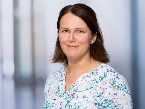Silvia Huber, Arzthelferin der Klinik für Urologie im Klinikum Ingolstadt