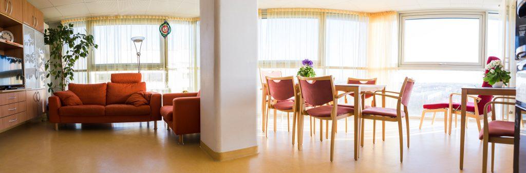"""Das """"Wohnzimmer"""" auf der Palliativstation im Klinikum Ingolstadt"""