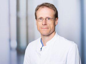 Dr. Jürgen Reißig, Oberarzt der Medizinischen Klinik II im Klinikum Ingolstadt