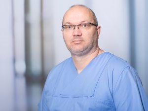 Stephan Triebe, Leitender Oberarzt im Zentrum für Radiologie und Neuroradiologie im Klinikum Ingolstadt