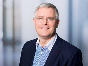 Dr. Hannes Wickert, Direktor des Instituts für Laboratoriumsmedizin