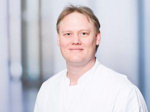 Dr. Dirk Winkler, Oberarzt der Medizinischen Klinik II im Klinikum Ingolstadt