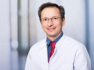 Prof. Andreas Schuck, Direktor des Instituts für Strahlentherapie und radiologische Onkologie im Klinikum Ingolstadt