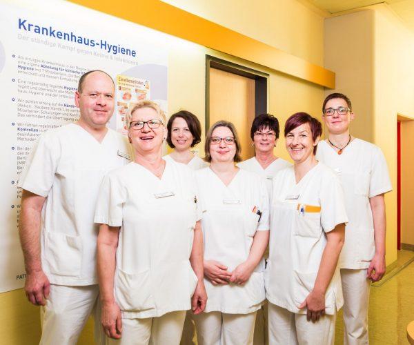 Das Team der Abteilung für Klinische Infektiologie