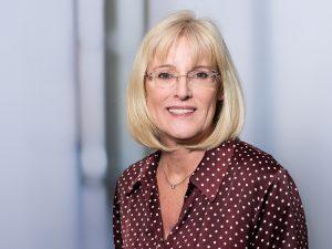 Elvira Lunz, Chefarztsekretärin der Klinik für Neurologie im Klinikum Ingolstadt