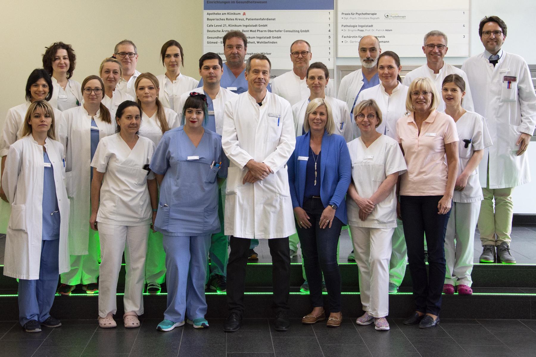 Das Team der Klinik für Neurologie im Klinikum Ingolstadt