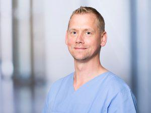 Dr. Achim Ehrt, Oberarzt am Institut für Anästhesie und Intensivmedizin am Klinikum Ingolstadt