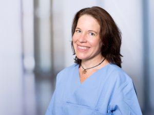 Angelika Grünes, Oberärztin am Institut für Anästhesie und Intensivmedizin am Klinikum Ingolstadt