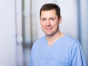 Michael Kaufer, Oberarzt am Institut für Anästhesie und Intensivmedizin am Klinikum Ingolstadt