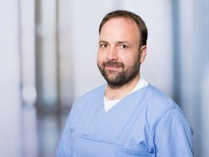 Volker Stöckle, Oberarzt am Institut für Anästhesie und Intensivmedizin am Klinikum Ingolstadt