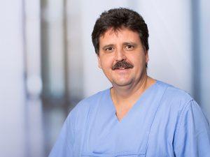 Thomas von Wernitz-Keibel, Oberarzt und Stellvertretender Klinikdirektor am Institut für Anästhesie und Intensivmedizin