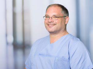 Christian Winklmeier, Oberarzt am Institut für Anästhesie und Intensivmedizin am Klinikum Ingolstadt