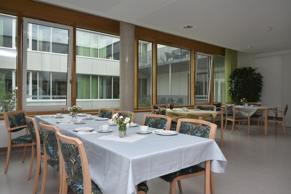 Anna Ponschab Haus, Aufenthaltsraum im Wohn- und Pflegebereich