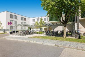 Aussenaufnahme Anna-Ponschab-Haus am Klinikum Ingolstadt