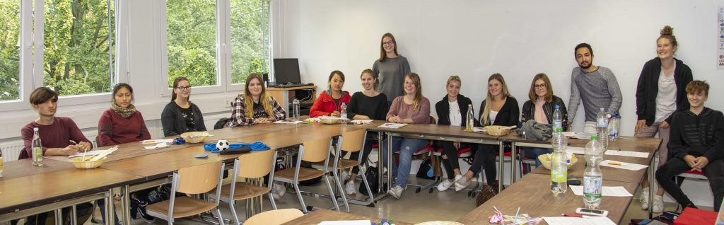 Begrüßung der FSJler am Klinikum Ingolstadt