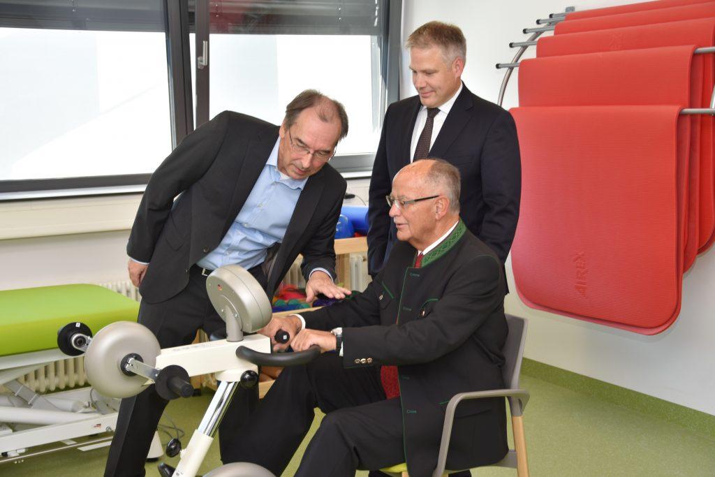 Einweihung Akutgeriatrische Tagesklinik Klinikum Ingolstadt 2018