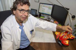 Prof. Karlheinz Seidl, Direktor der Medizinischen Klinik I