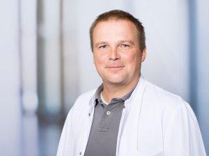 Dr. Matthias Habich, Oberarzt im Zentrum für psychische Gesundheit am Klinikum Ingolstadt