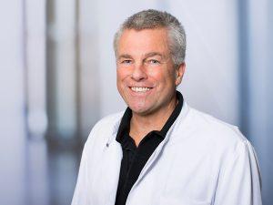Reiner Heigl, Oberarzt im Zentrum für psychische Gesundheit am Klinikum Ingolstadt