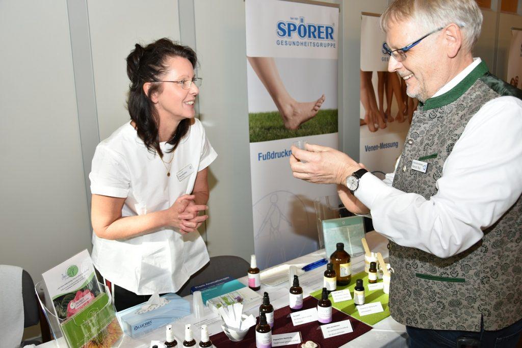 Infostand beim Gesundheitstag des Klinikums Ingolstadt