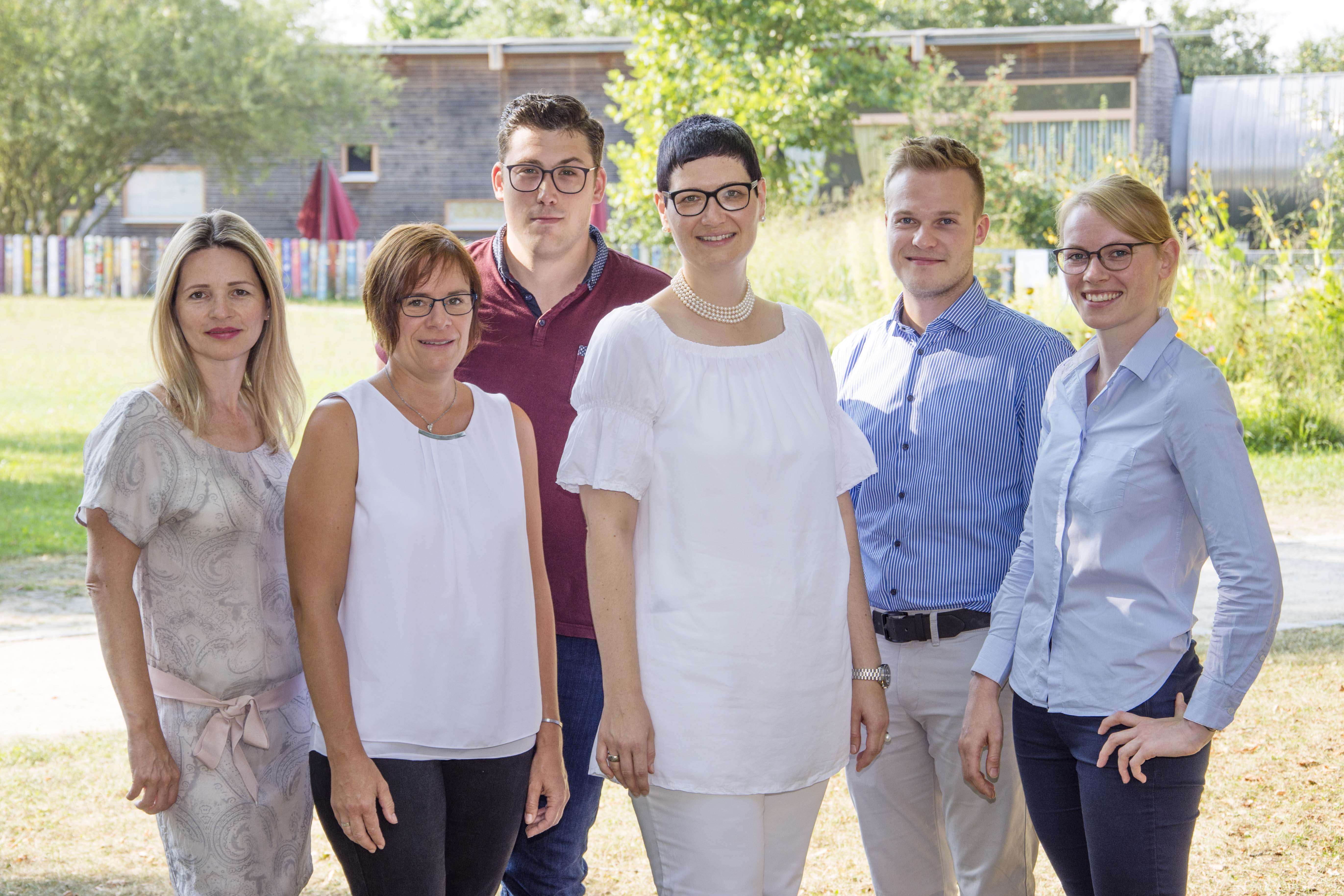 Gruppenbild der Abteilung Qualitäts- und Risikomanagement im Klinikum Ingolstadt