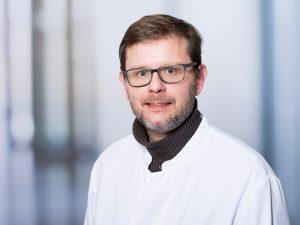 Dr. Stefan Siebert, Oberarzt im Zentrum für psychische Gesundheit am Klinikum Ingolstadt