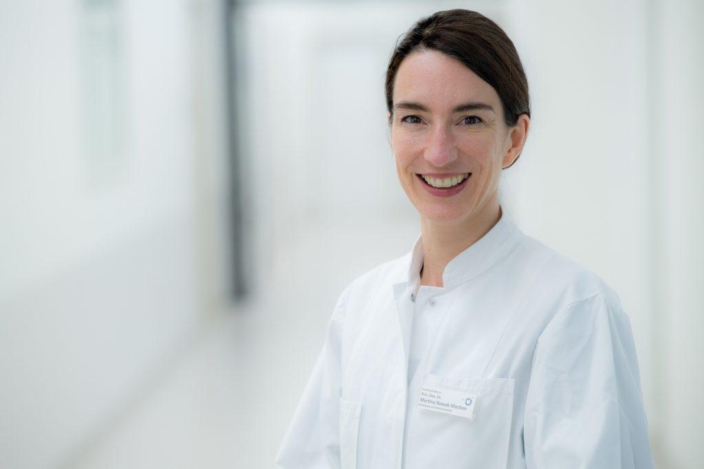 PD Dr. Martina Nowak-Machen, Direktorin der Klinik für Anästhesie und Intensivmedizin im Klinikum Ingolstadt