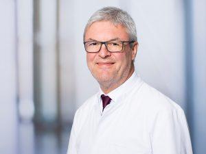 Dr. Friedrich Lazarus, Direktor der Medizinischen Klinik III im Klinikum Ingolstadt