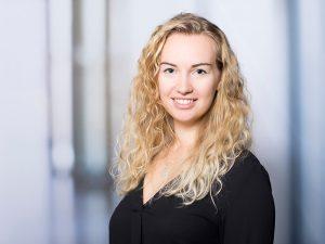 Anna Opatz, Mediengestalterin am Klinikum Ingolstadt