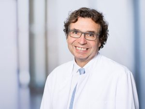 Prof. Dr. Karlheinz Seidl, Direktor der Medizinischen Klinik I im Klinikum Ingolstadt