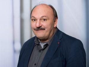 Werner Büchl, Mitarbeiter der Personalabteilung im Klinikum Ingolstadt