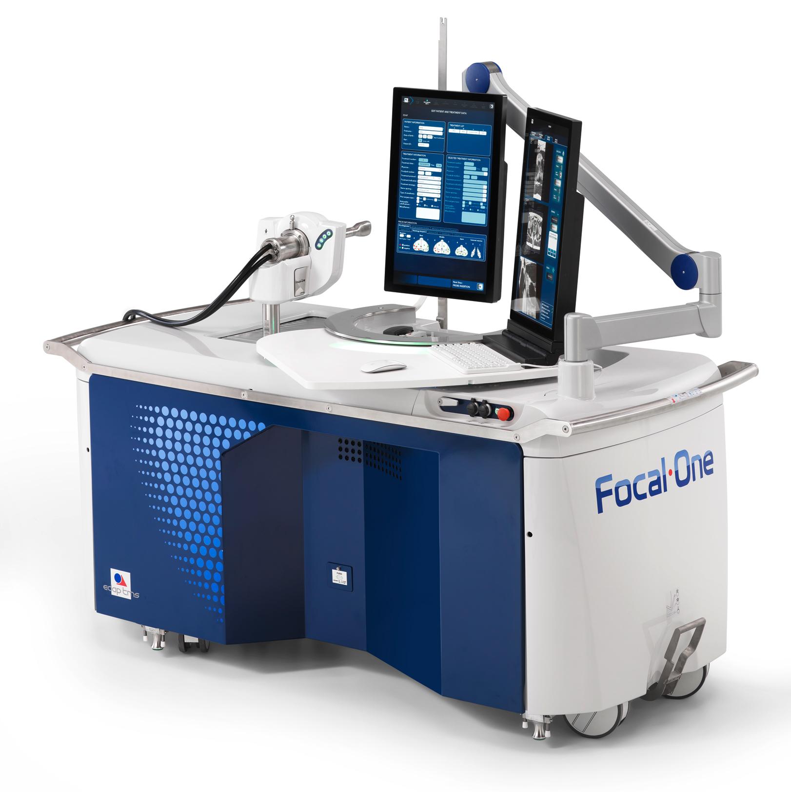 Schaubild eines OP-Roboters, des Focal One