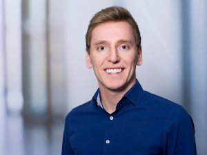 Dominik Schneider, Mitarbeiter der Personalabteilung im Klinikum Ingolstadt