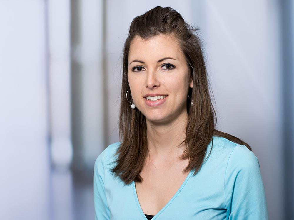 Michaela Walthier, Mitarbeiterin der Personalabteilung im Klinikum Ingolstadt